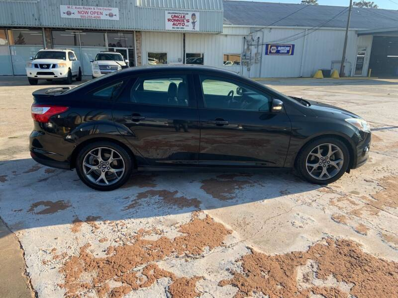 2014 Ford Focus for sale at Uncle Ronnie's Auto LLC in Houma LA