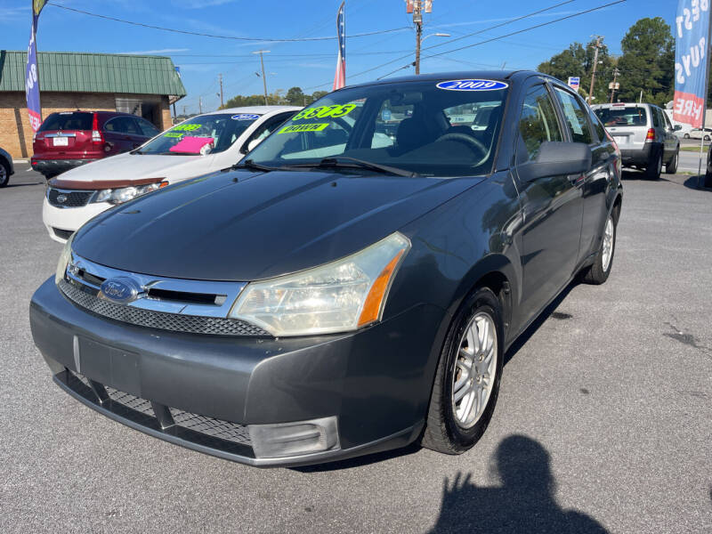 2009 Ford Focus for sale at Cars for Less in Phenix City AL