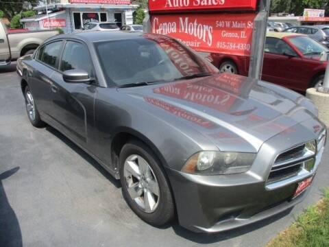 2012 Dodge Charger for sale at GENOA MOTORS INC in Genoa IL