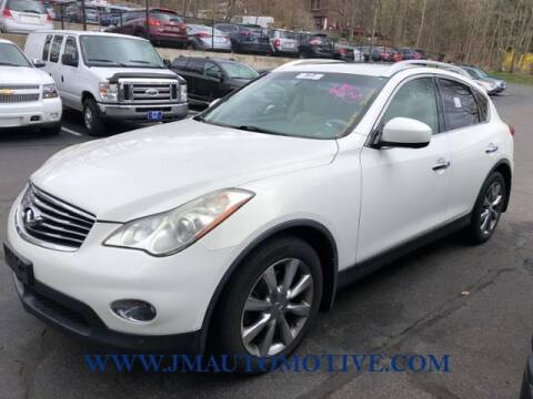 2011 Infiniti EX35 for sale at J & M Automotive in Naugatuck CT