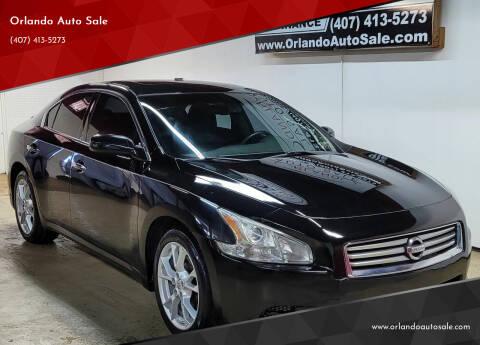 2012 Nissan Maxima for sale at Orlando Auto Sale in Orlando FL