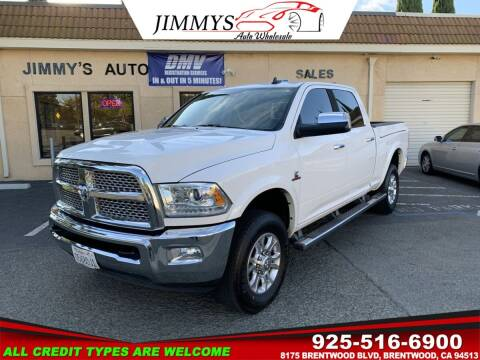 2014 RAM Ram Pickup 2500 for sale at JIMMY'S AUTO WHOLESALE in Brentwood CA