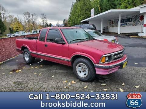 1995 Chevrolet S-10 for sale at BROOKS BIDDLE AUTOMOTIVE in Bothell WA