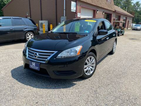 2013 Nissan Sentra for sale at Hornes Auto Sales LLC in Epping NH