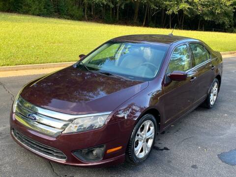 2012 Ford Fusion for sale at Top Notch Luxury Motors in Decatur GA