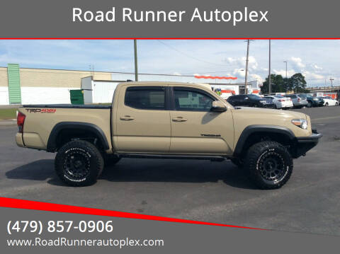 2016 Toyota Tacoma for sale at Road Runner Autoplex in Russellville AR