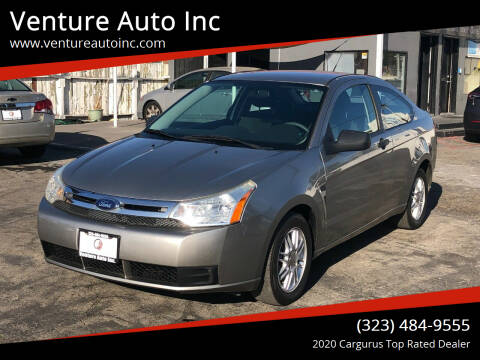 2008 Ford Focus for sale at Venture Auto Inc in South Gate CA