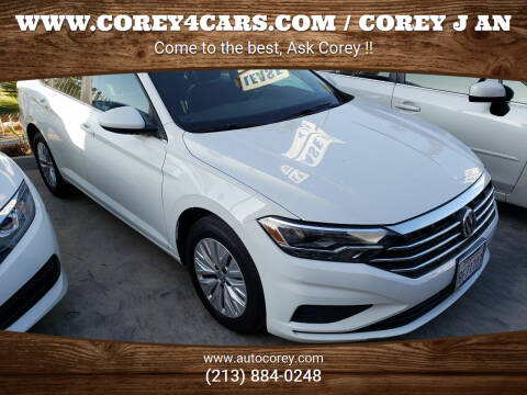 2019 Volkswagen Jetta for sale at WWW.COREY4CARS.COM / COREY J AN in Los Angeles CA