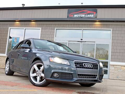 2010 Audi A4 for sale at CK MOTOR CARS in Elgin IL