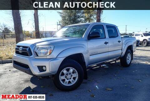 2013 Toyota Tacoma for sale at Meador Dodge Chrysler Jeep RAM in Fort Worth TX