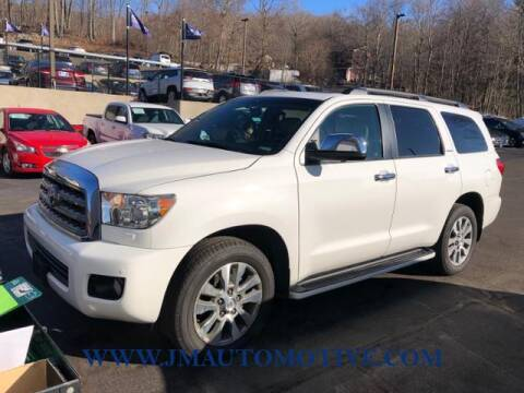 2016 Toyota Sequoia for sale at J & M Automotive in Naugatuck CT