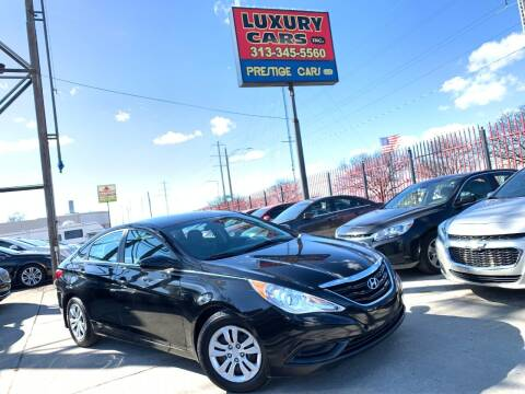 2011 Hyundai Sonata for sale at Dymix Used Autos & Luxury Cars Inc in Detroit MI