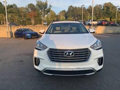 2017 Hyundai Santa Fe for sale at CU Carfinders in Norcross GA