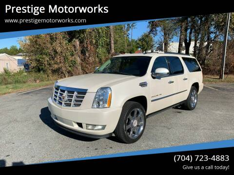2011 Cadillac Escalade ESV for sale at Prestige Motorworks in Concord NC