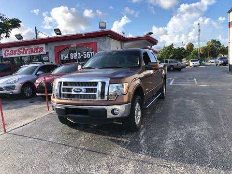 2012 Ford F-150 for sale at CARSTRADA in Hollywood FL