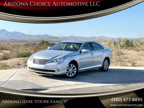 2011 Lexus ES 350 for sale at Arizona Choice Automotive LLC in Mesa AZ