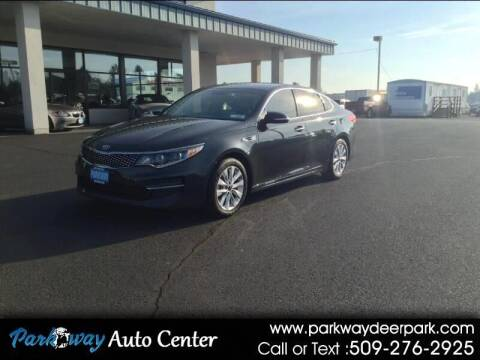 2016 Kia Optima for sale at PARKWAY AUTO CENTER AND RV in Deer Park WA