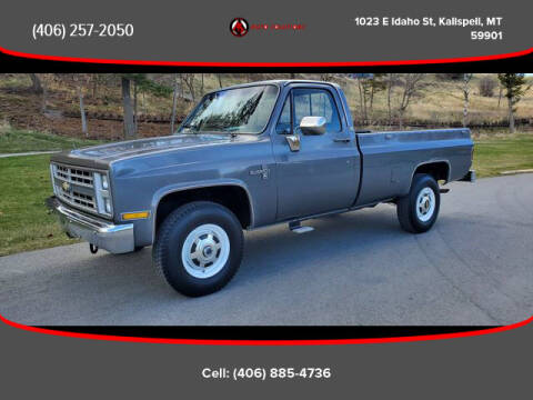1986 Chevrolet C/K 20 Series for sale at Auto Solutions in Kalispell MT