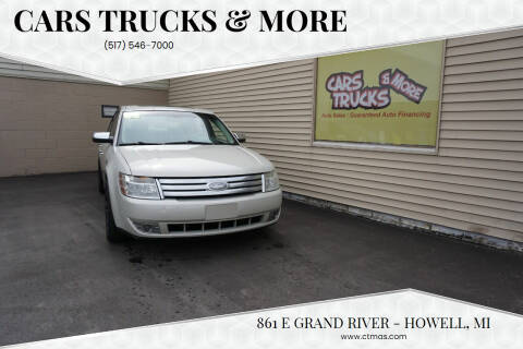 2008 Ford Taurus for sale at Cars Trucks & More in Howell MI