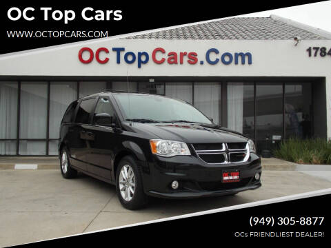2018 Dodge Grand Caravan for sale at OC Top Cars in Irvine CA