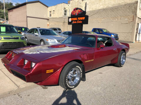 1979 Pontiac Trans Am for sale at STEEL TOWN PRE OWNED AUTO SALES in Weirton WV