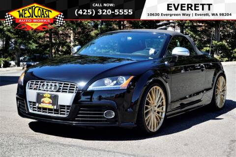 2009 Audi TTS for sale at West Coast Auto Works in Edmonds WA
