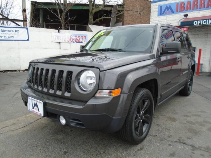 2014 Jeep Patriot for sale at IBARRA MOTORS INC in Cicero IL