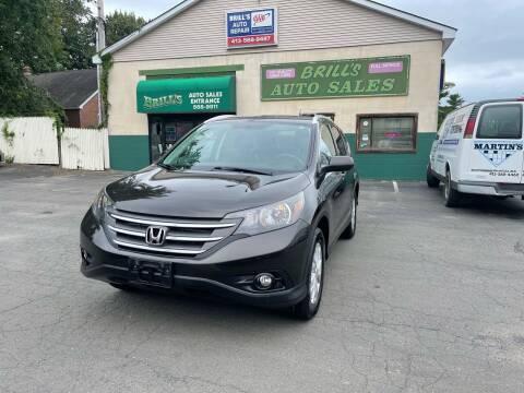 2014 Honda CR-V for sale at Brill's Auto Sales in Westfield MA