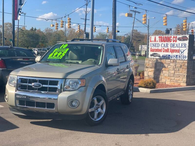 2010 Ford Escape for sale at L.A. Trading Co. Woodhaven in Woodhaven MI