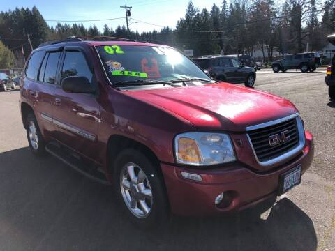 2002 GMC Envoy for sale at Freeborn Motors in Lafayette, OR