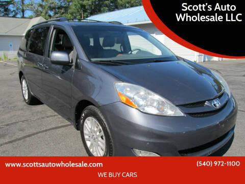2009 Toyota Sienna for sale at Scott's Auto Wholesale LLC in Locust Grove VA