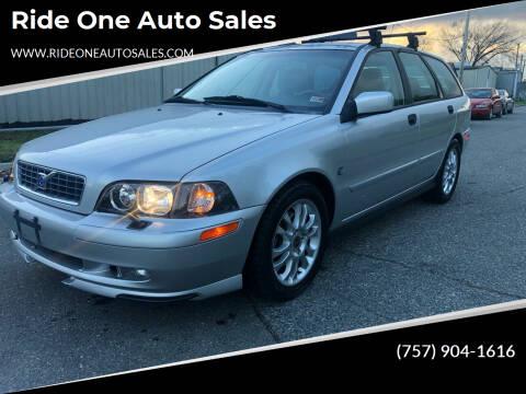 2004 Volvo V40 for sale at Ride One Auto Sales in Norfolk VA