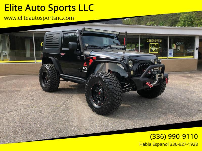 2007 Jeep Wrangler for sale at Elite Auto Sports LLC in Wilkesboro NC