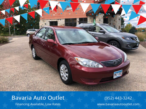 2006 Toyota Camry for sale at Bavaria Auto Outlet in Victoria MN