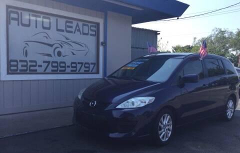 2010 Mazda MAZDA5 for sale at AUTO LEADS in Pasadena TX