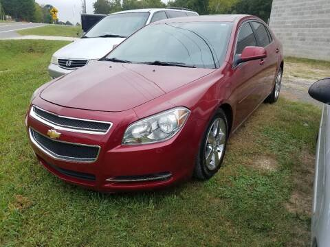 2010 Chevrolet Malibu for sale at Arkansas Wholesale Auto Sales in Hot Springs AR