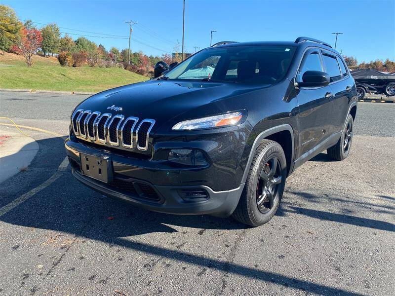 2016 Jeep Cherokee for sale at CarXpress in Fredericksburg VA