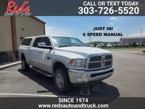 2012 RAM Ram Pickup 2500 for sale at Red's Auto and Truck in Longmont CO