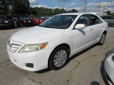 2011 Toyota Camry for sale at King of Auto in Stone Mountain GA