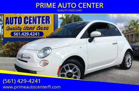 2012 FIAT 500 for sale at PRIME AUTO CENTER in Palm Springs FL
