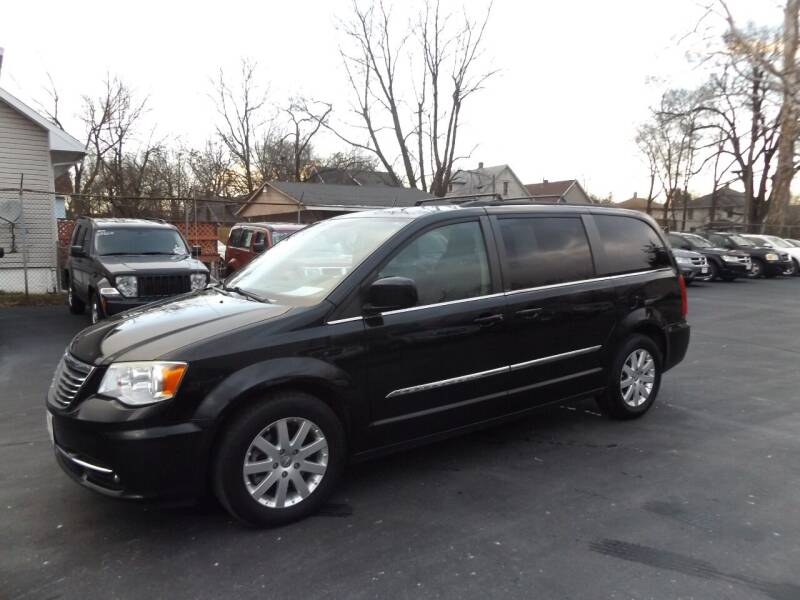 2013 Chrysler Town and Country for sale at Goodman Auto Sales in Lima OH