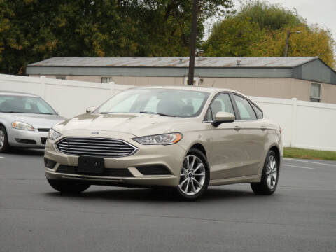 2017 Ford Fusion for sale at Jack Schmitt Chevrolet Wood River in Wood River IL