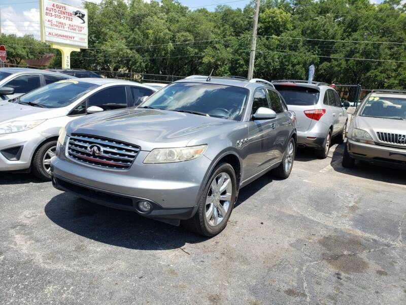 2004 Infiniti FX45 for sale at 4 Guys Auto in Tampa FL