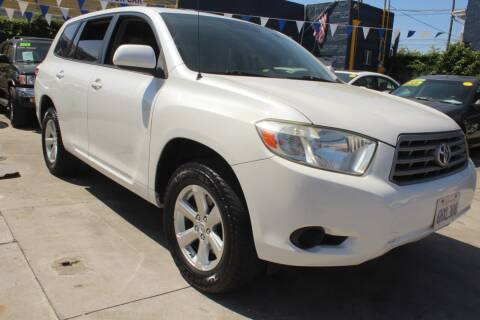 2009 Toyota Highlander for sale at Good Vibes Auto Sales in North Hollywood CA