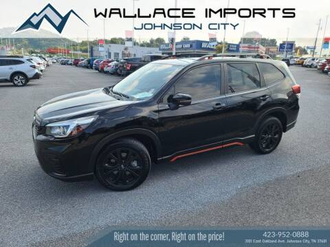2019 Subaru Forester for sale at WALLACE IMPORTS OF JOHNSON CITY in Johnson City TN