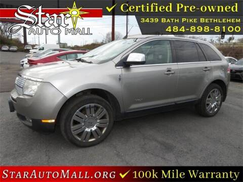 2008 Lincoln MKX for sale at STAR AUTO MALL 512 in Bethlehem PA