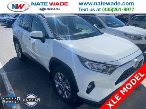 2019 Toyota RAV4 for sale at NATE WADE SUBARU in Salt Lake City UT