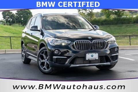 2018 BMW X1 for sale at Autohaus Group of St. Louis MO - 3015 South Hanley Road Lot in Saint Louis MO