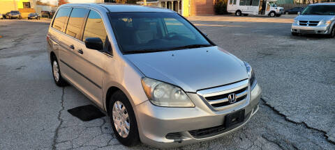 2007 Honda Odyssey for sale at WEELZ in New Castle DE