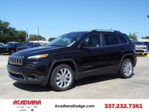 2015 Jeep Cherokee for sale at Acadiana Automotive Group - Acadiana DCJRF Lafayette in Lafayette LA